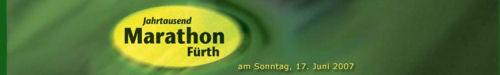 Der Jahrtausend-Marathon Fürth