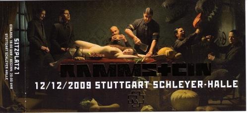 Rammstein Ticket