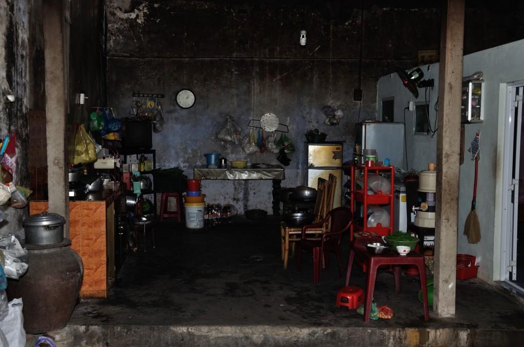 Küche in einem traditionellen vietnamesichen Haus