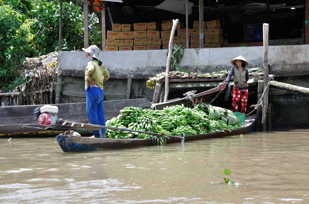 Mekong Delta, Bananenhandel