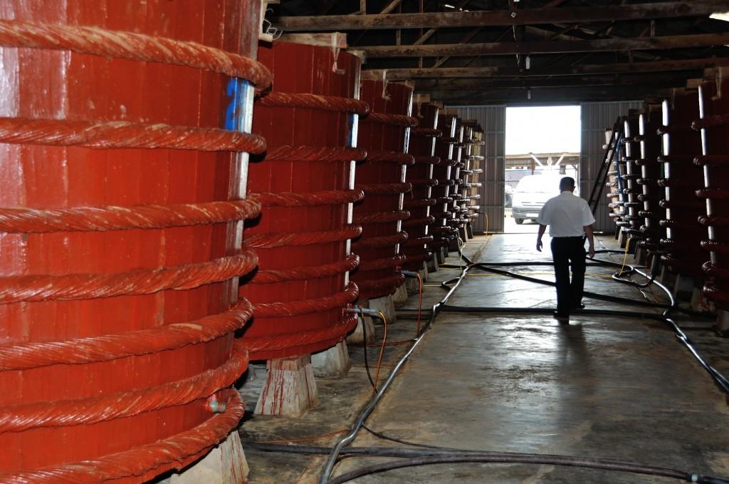 Fischsoßen Fabrik in Phu Quoc